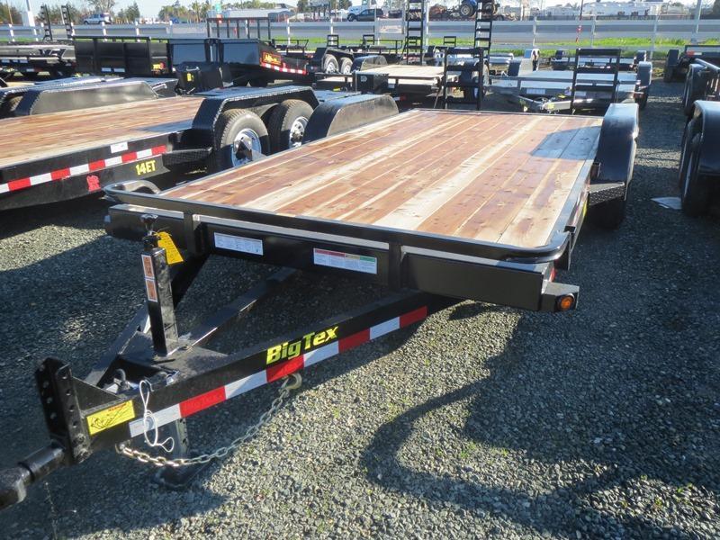 New 2018 Big Tex 10ET-18KR Equipment Trailer 7X18 10K GVW