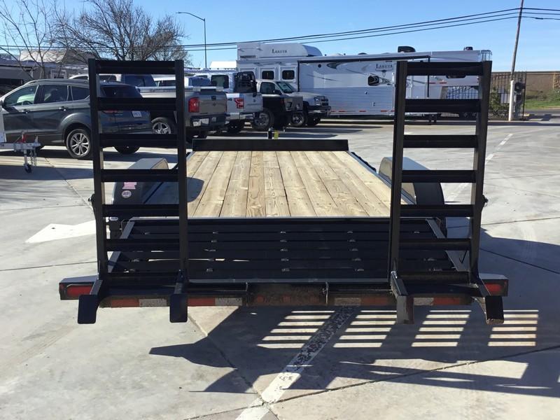New 2019 Big Tex 10ET-18KR Equipment Trailer 7X18 10K GVW