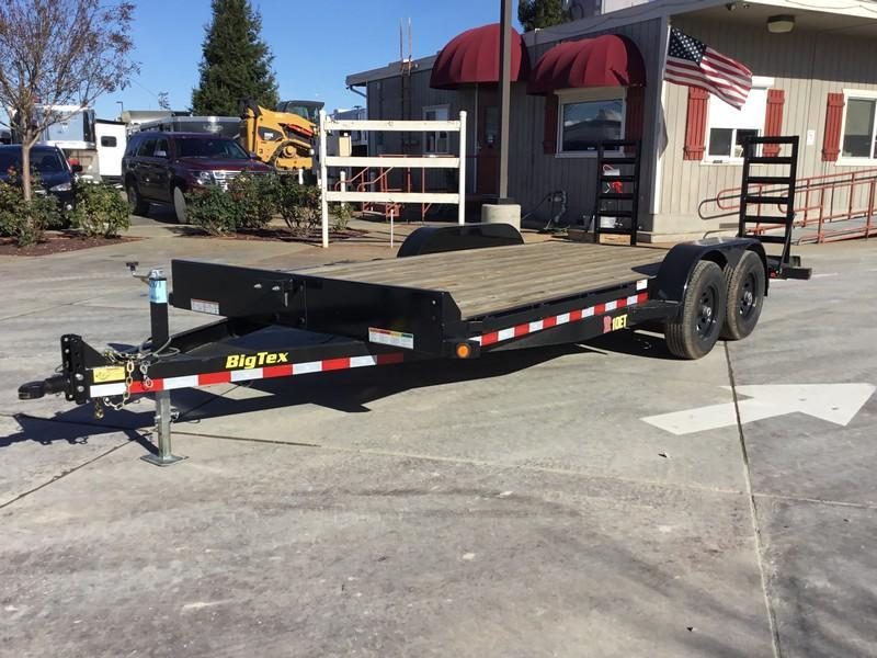 New 2019 Big Tex 10ET-18KR Equipment Trailer 7X18 10K GVW in Ashburn, VA