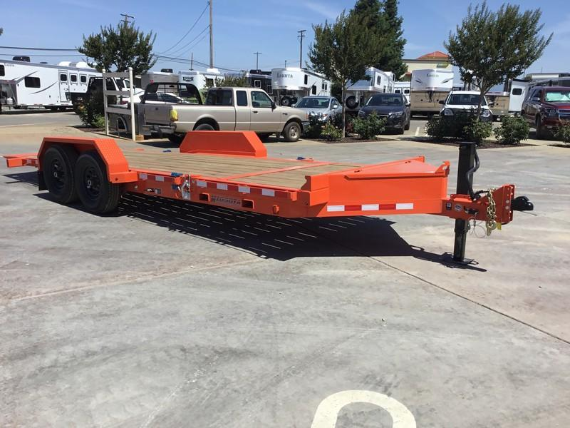 NEW 2018 Midsota TB-20 7 x 20 14K GVW Tilt Equipment trailer