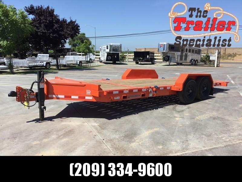 NEW 2018 Midsota TB-20 7 x 20 14K GVW Tilt Equipment trailer