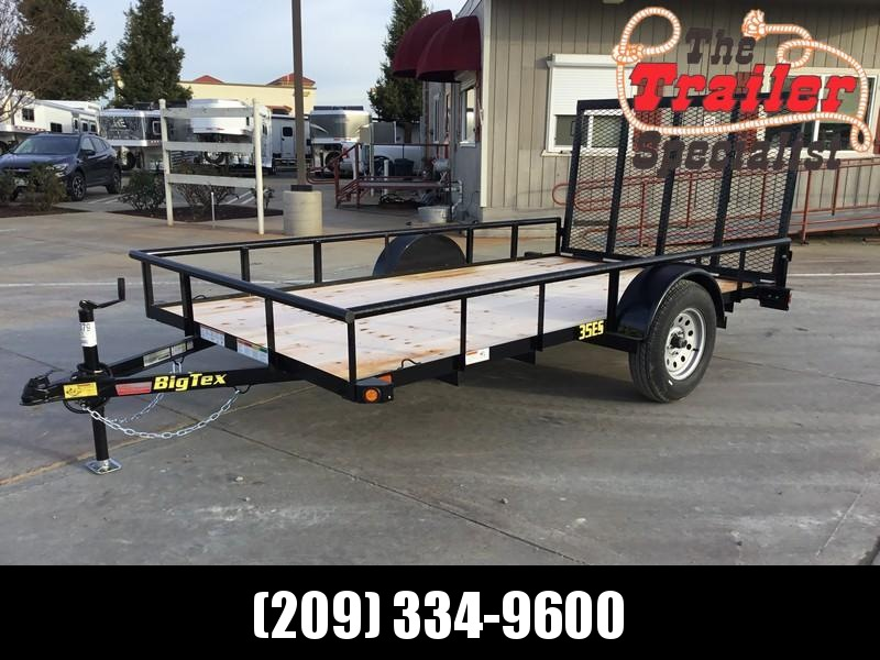 NEW 2019 Big Tex 35ES-12 6.5 x 12 Economy Utility Trailer