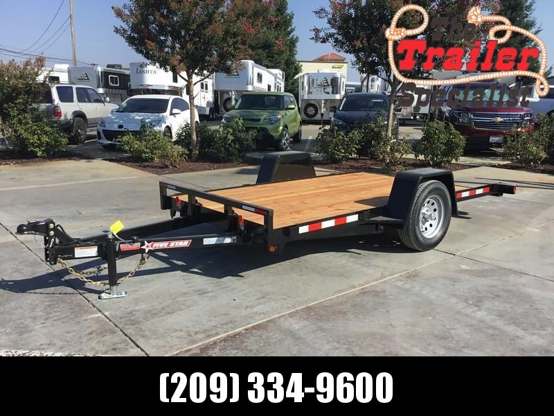 New 2019 Five Star UT273 3K 5.5x12 Tilt Utility Trailer