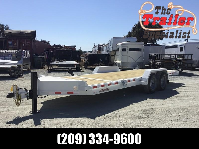 NEW Heavy Duty 2019 Midsota TB - 20 7x20' 15400 GVW Equipment Trailer in Ashburn, VA