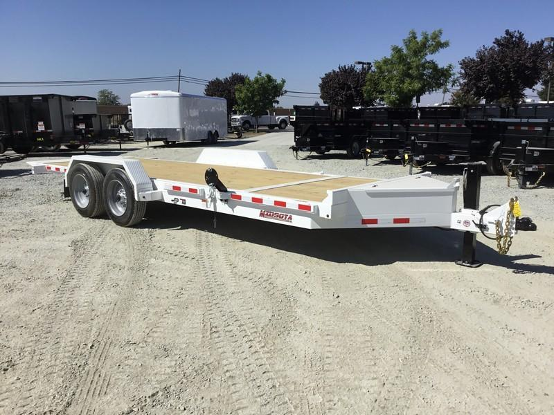 NEW Heavy Duty 2019 Midsota TB - 20 7x22' 15400 GVW Equipment Trailer