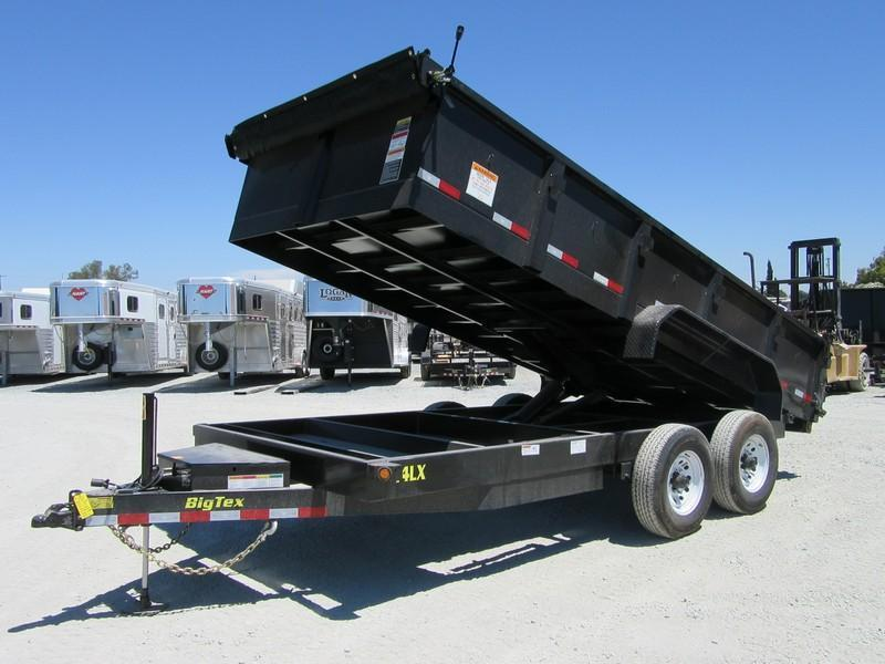 New 2019 Big Tex 14LX-16HJ 7x16 14K GVW Dump Trailer