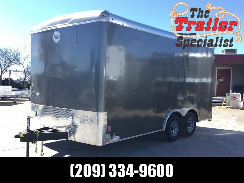 NEW 2019 Wells Cargo RF85X164 8.5 x 16 Enclosed Car Trailer Enclosed Cargo Trailer