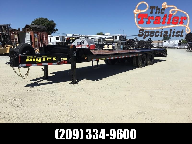 2019 Big Tex 25PH-25+5MR 25900# GVW Equipment Trailer