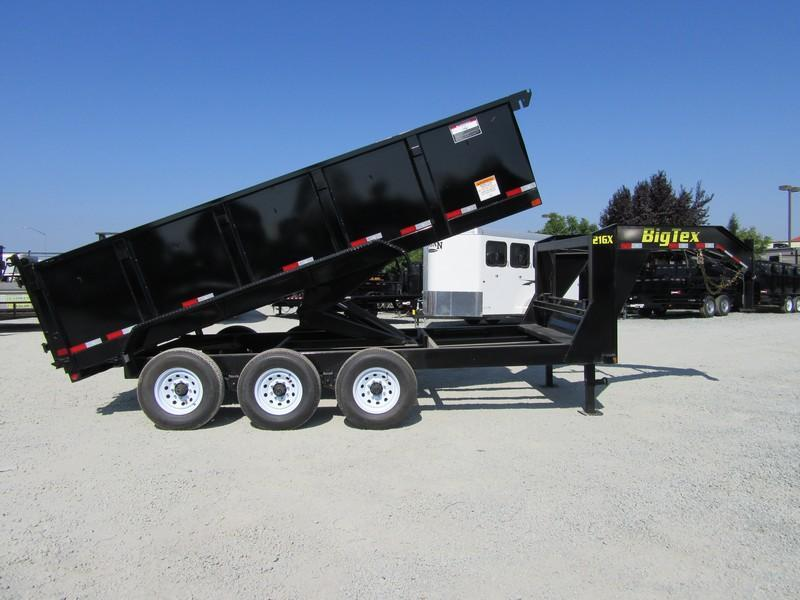 "New 2020 Big Tex 21GX-16P3 83""x16 21000 GVW Dump Trailer"