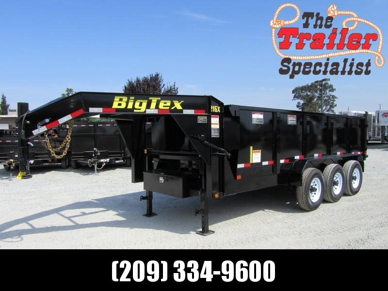 "New 2017 Big Tex 21GX-16P3 83""x16 21000 GVW Dump Trailer Vin72563"