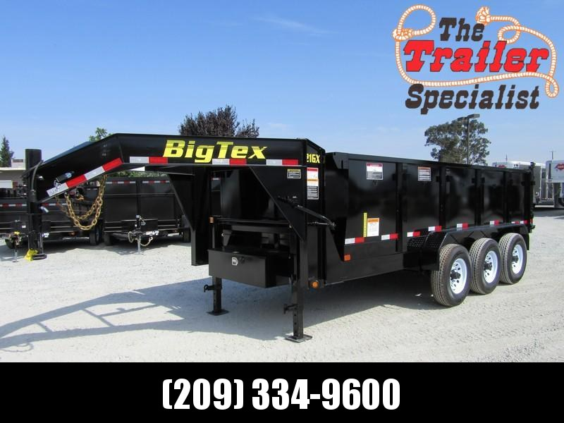 "New 2020 Big Tex 21GX-16P3 83""x16 21000 GVW Dump Trailer in Ashburn, VA"