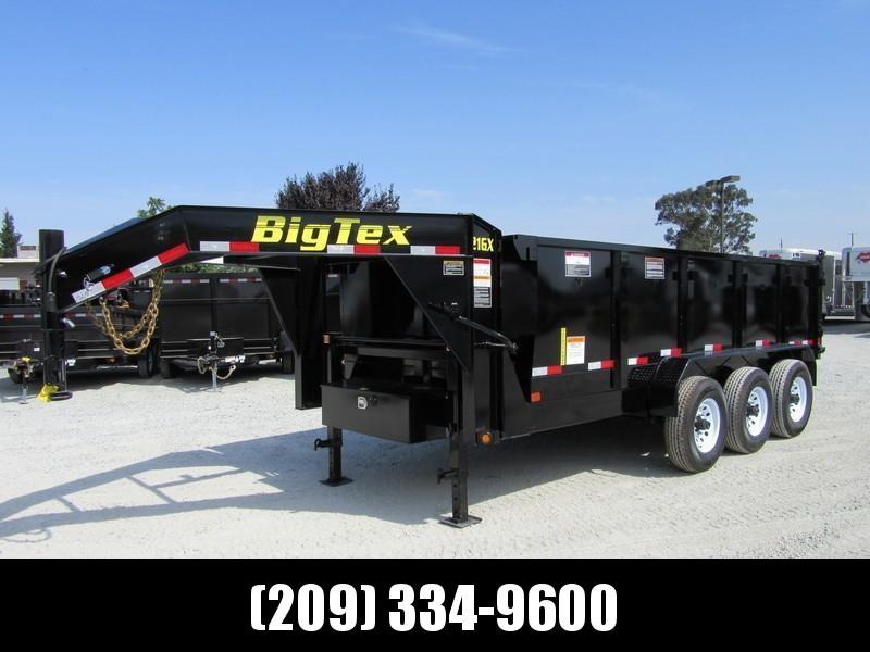 """New 2020 Big Tex 21GX-16P3 83""""x16 21000 GVW Dump Trailer in Ashburn, VA"""