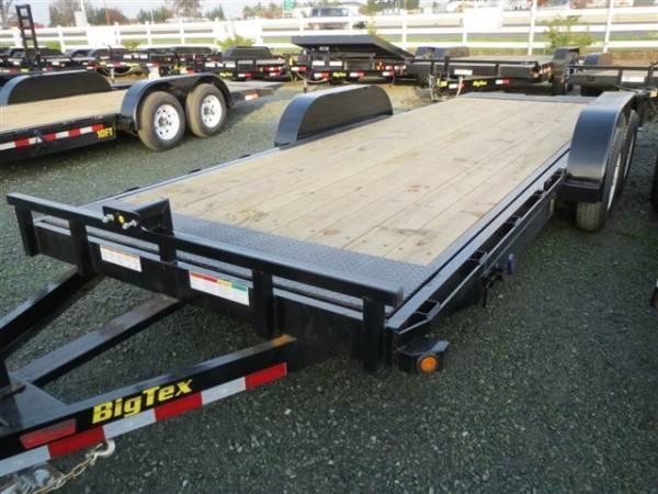 "New 2018 Big Tex 10FT-18 80""x18' Car Hauler or Equipment Trailer VIN:99605"