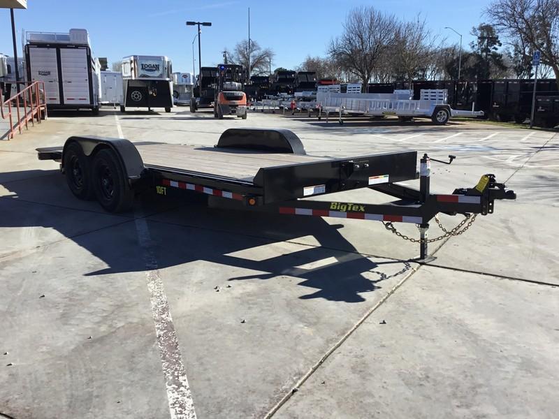 "New 2019 Big Tex 10FT-18 80""x18' Car Hauler or Equipment Trailer"