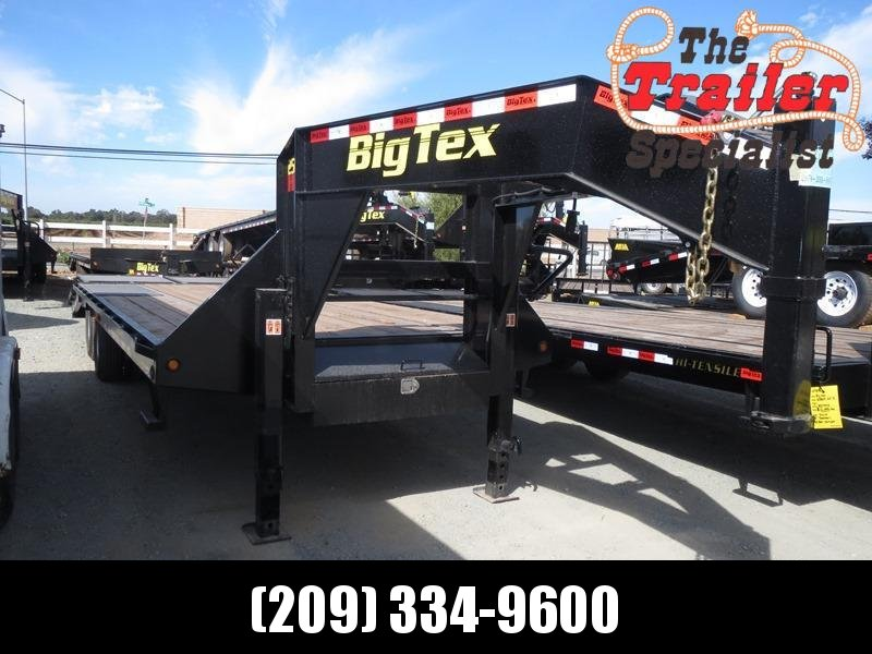 New 2018 Big Tex 25GN-20+5MR 25K GVW 25' Flatbed Trailer