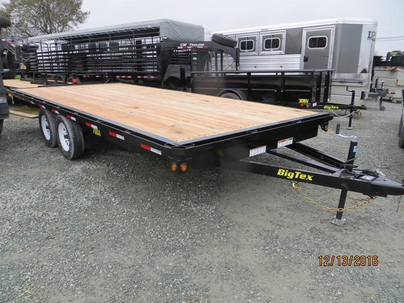 2017 Big Tex 70OA-18 8.5x18 7K GVW Deckover Utility Trailer Vin:24085