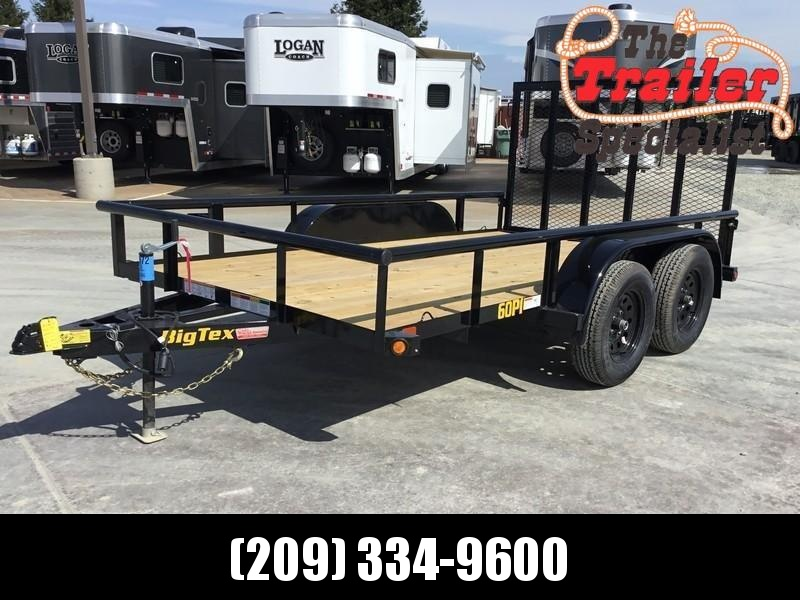 New 2020 Big Tex 60PI-12RGBRK2 6.5x12 6K GVW Utility Trailer