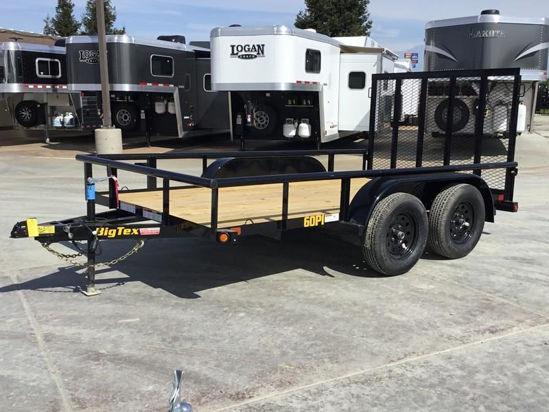 New 2020 Big Tex 60PI-12RGBRK2 6.5x12 6K GVW Utility Trailer