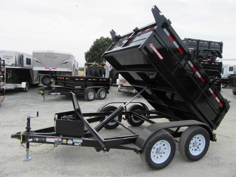 New 2019 Five Star DT263 Dump Trailer 6X8 7K