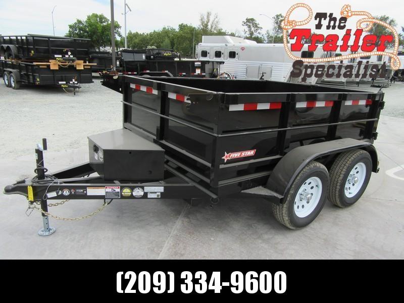 New 2019 Five Star DT263 Dump Trailer 6X8 7K  in Ashburn, VA