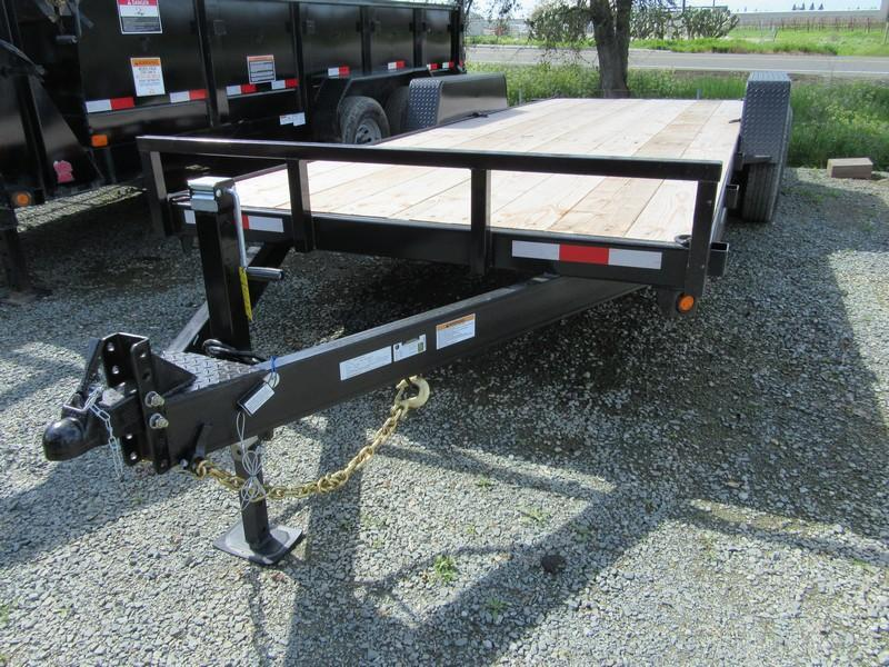 New 2018 Iron Panther ET061 7x20 14K GVW Equipment Trailer VIN 12919