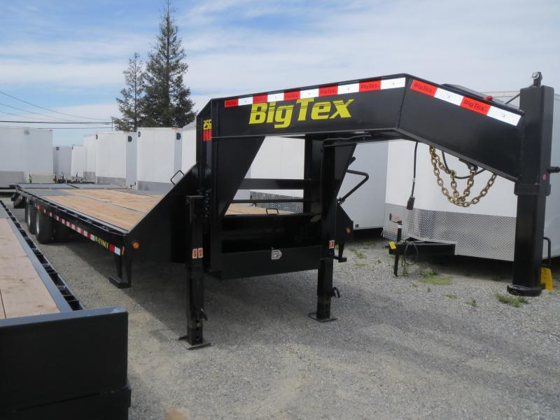 New 2018 Big Tex 25GN-25+5MR Equipment Trailer 8.5'x30' VIN22090
