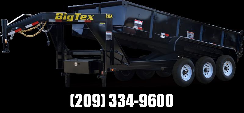 "NEW 2020 Big Tex 21GX-16 83""x16' Dump Trailer Vin53671 in Ashburn, VA"
