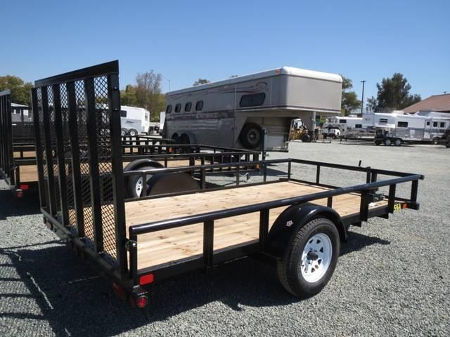New 2019 Big Tex 35SA-12 6.5x12 Utility Trailer