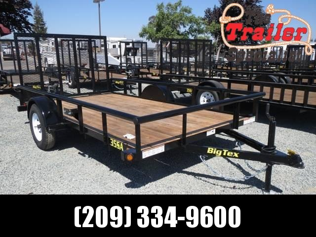 New 2020 Big Tex 35SA-12 6.5x12 Utility Trailer