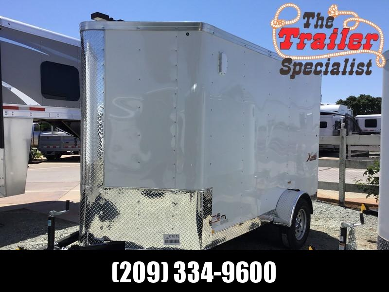 NEW 2019 Mirage Trailers XPS610SA2 6x10 Enclosed Cargo Trailer
