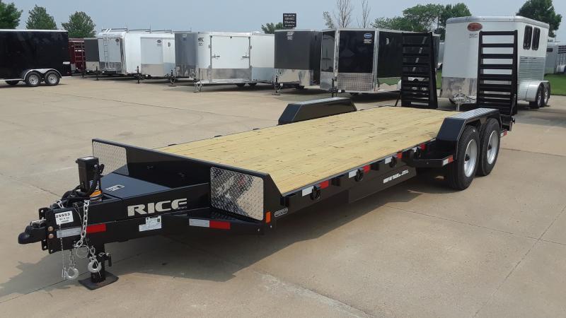 2020 Rice 22' Magnum Equipment HD Equipment Trailer in Ashburn, VA