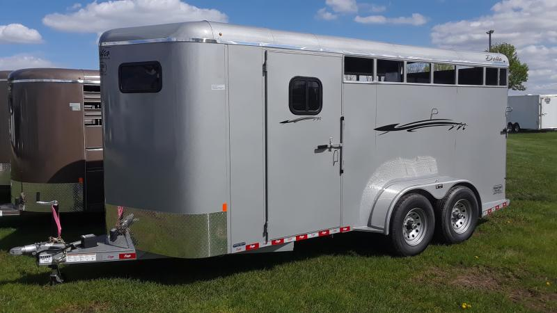 2019 Delta Manufacturing 3 HORSE BUMPER Horse Trailer in Ashburn, VA