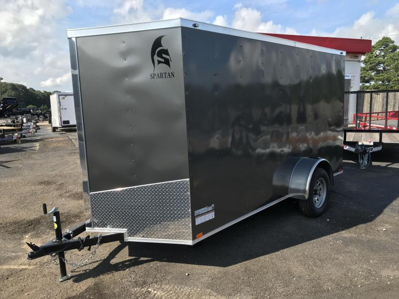 New Spartan 6x12 Cargo Trailer in Taylorsville, GA