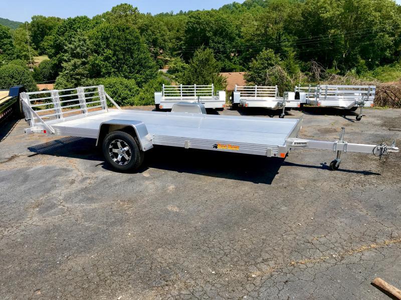 New 6.5' x 14' Bear Track Aluminum Utility Trailer in Ashburn, VA