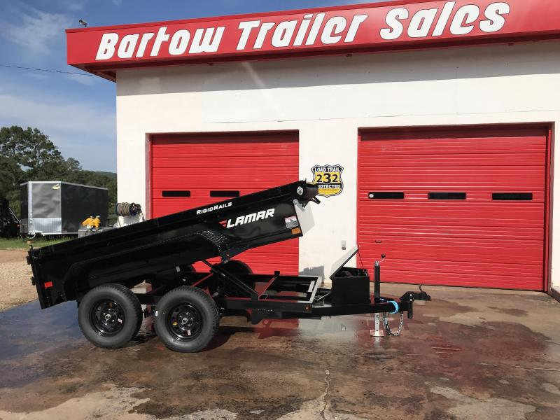 New Lamar 5'x10' Dump Trailer 7k in Cave Spring, GA