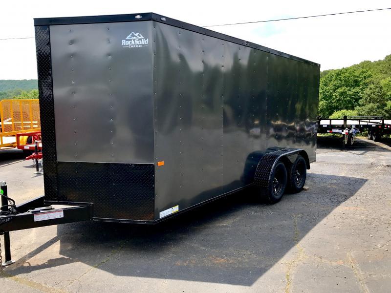 2019 Rock Solid Cargo TA716 Enclosed Cargo Trailer