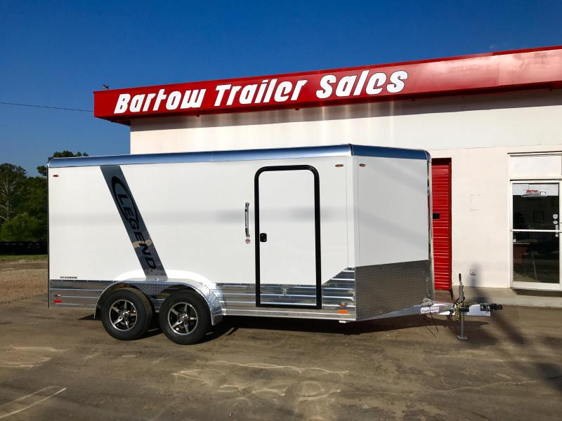 2018 Legend All Aluminum 17ft Enclosed Trailer
