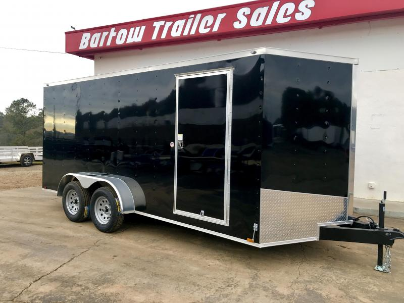 New Spartan 7x16 Enclosed Trailer in Taylorsville, GA