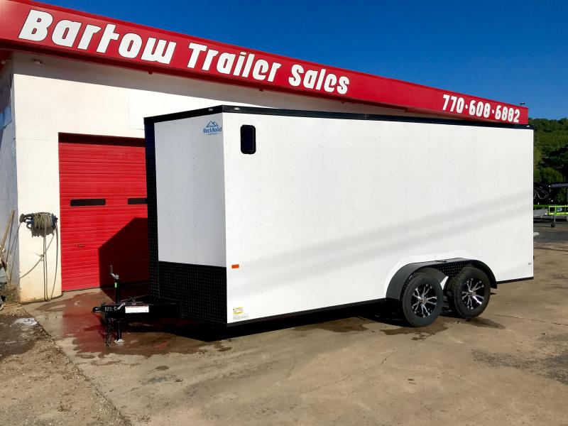 New Rock Solid 7x16 Cargo Trailer
