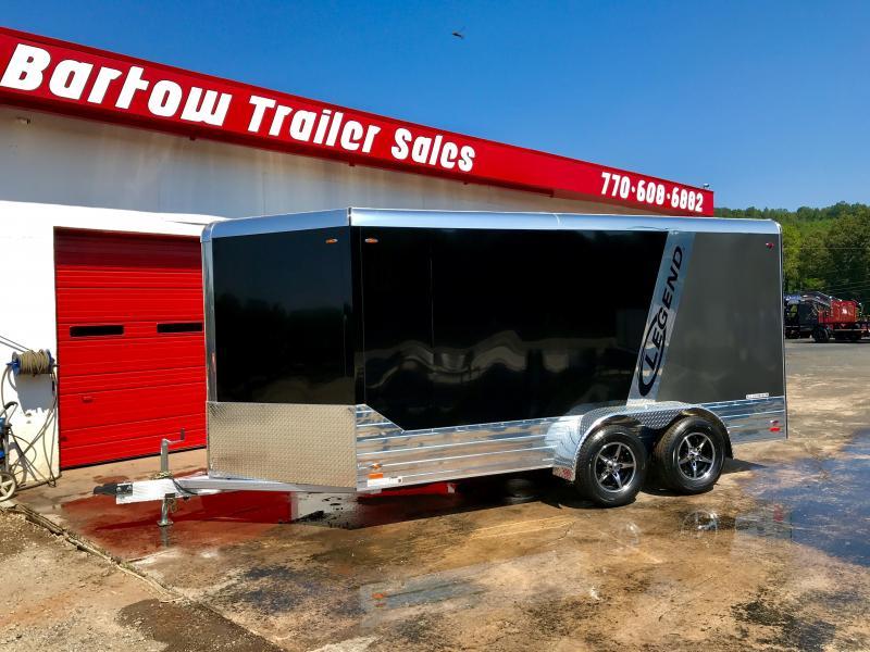2018 Legend DVN17 All Aluminum Cargo Trailer