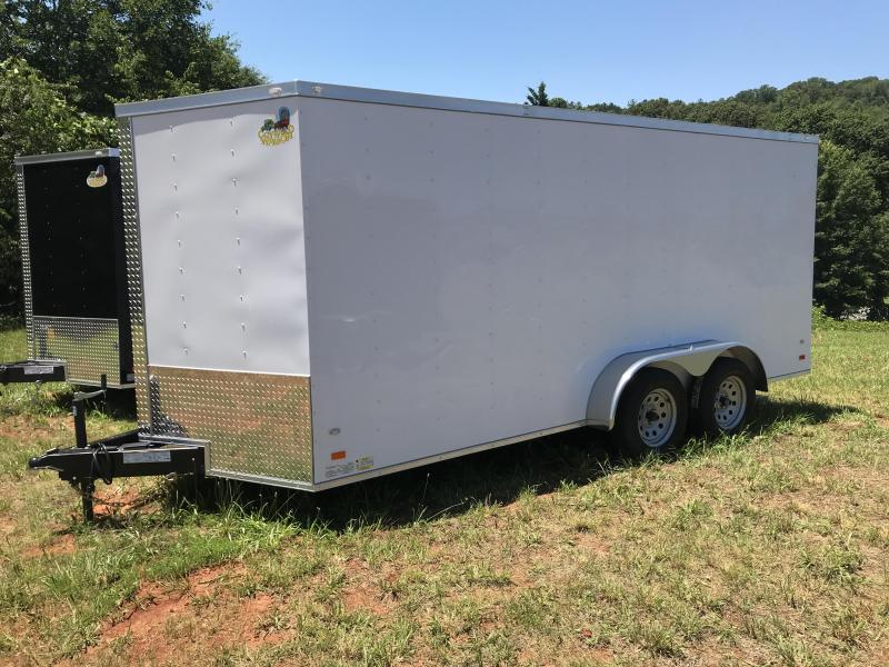 2018 7X16 Enclosed Trailer