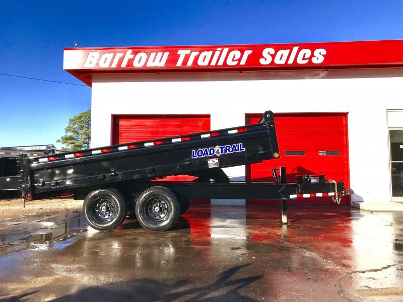 New Load Trail 14ft Deckover Dump Trailer in Cherry Log, GA