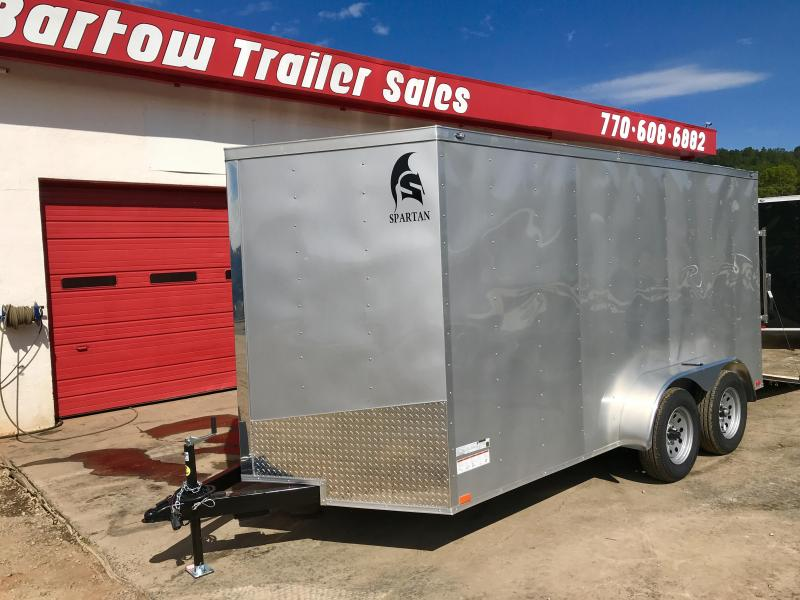 2019 Spartan 7'x14' Enclosed Cargo Trailer in Taylorsville, GA