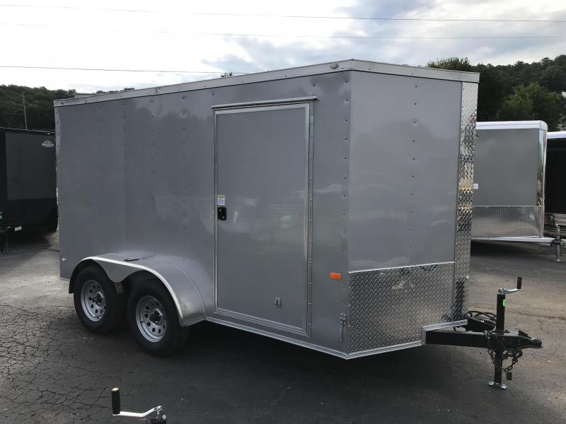 New Rock Solid 6x12 Tandem Cargo Trailer in Warne, NC