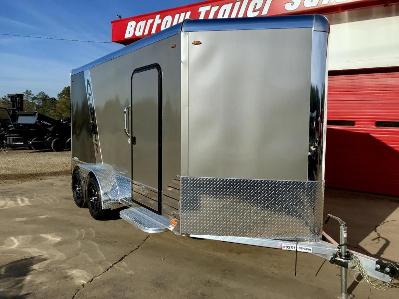 New 17' Legend Alluminum Deluxe Enclosed Trailer in Warne, NC