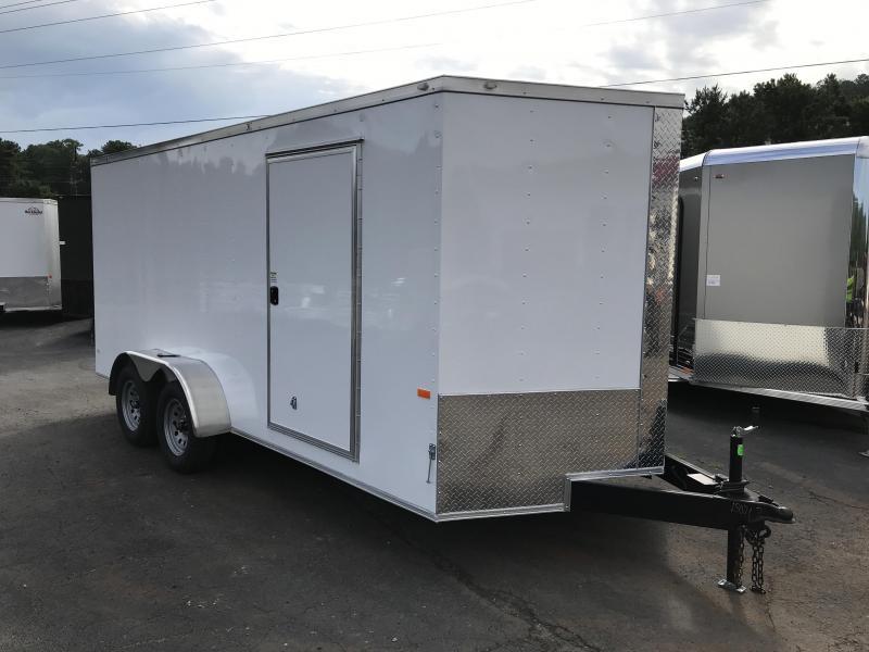 New Rock Solid 7x16 Cargo Trailer in Warne, NC