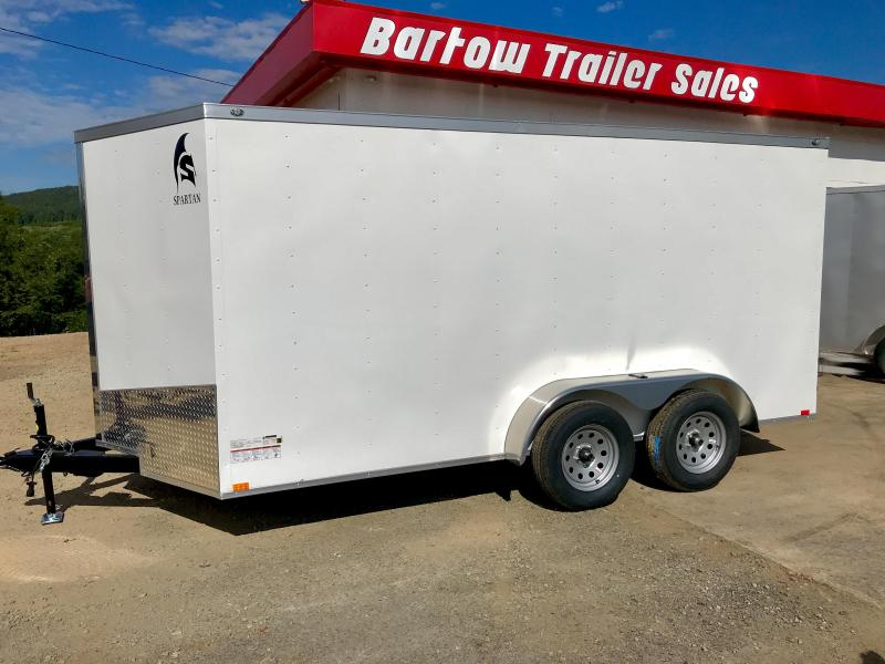 2019 Spartan 7x14 Enclosed Cargo Trailer in Summerville, GA