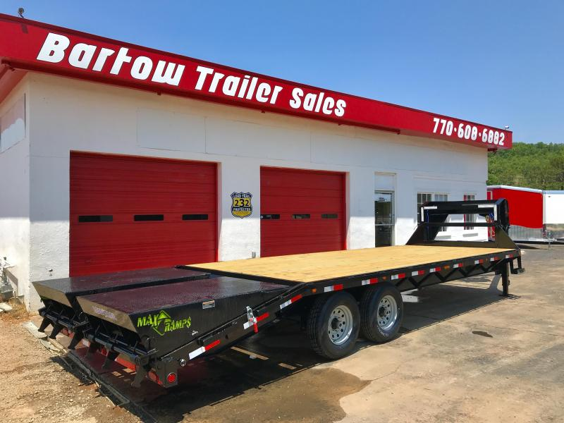 New Load Trail 25ft 14k Flatbed Trailer in Cherry Log, GA