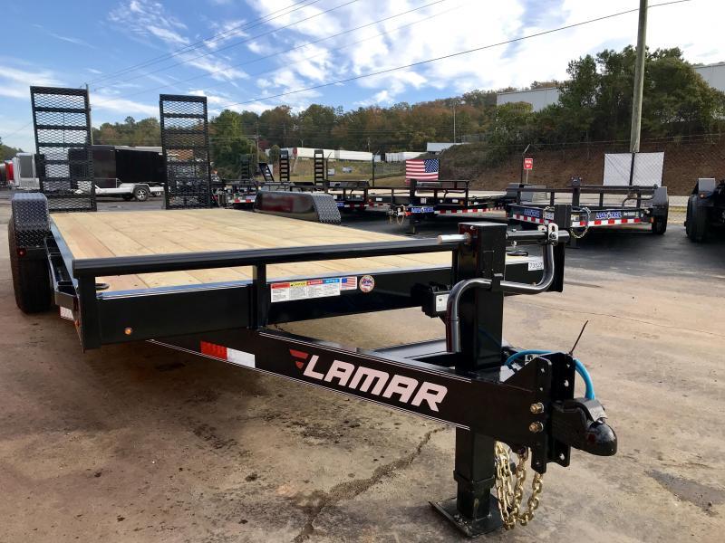 New Lamar 18ft 14K Equipment Trailer
