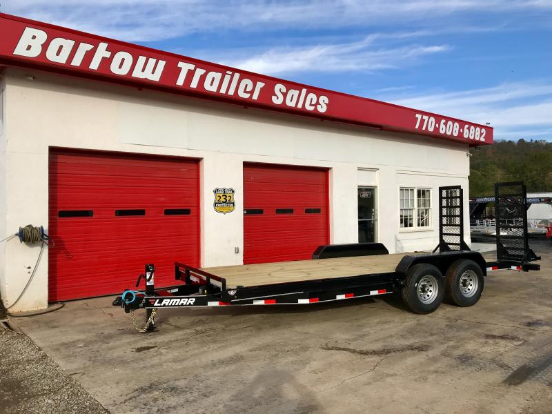 New Lamar 20' 14K Equipment Trailer in Nelson, GA